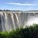The Victoria Falls in March. Taken by Graeme and Sue Scrimgeour
